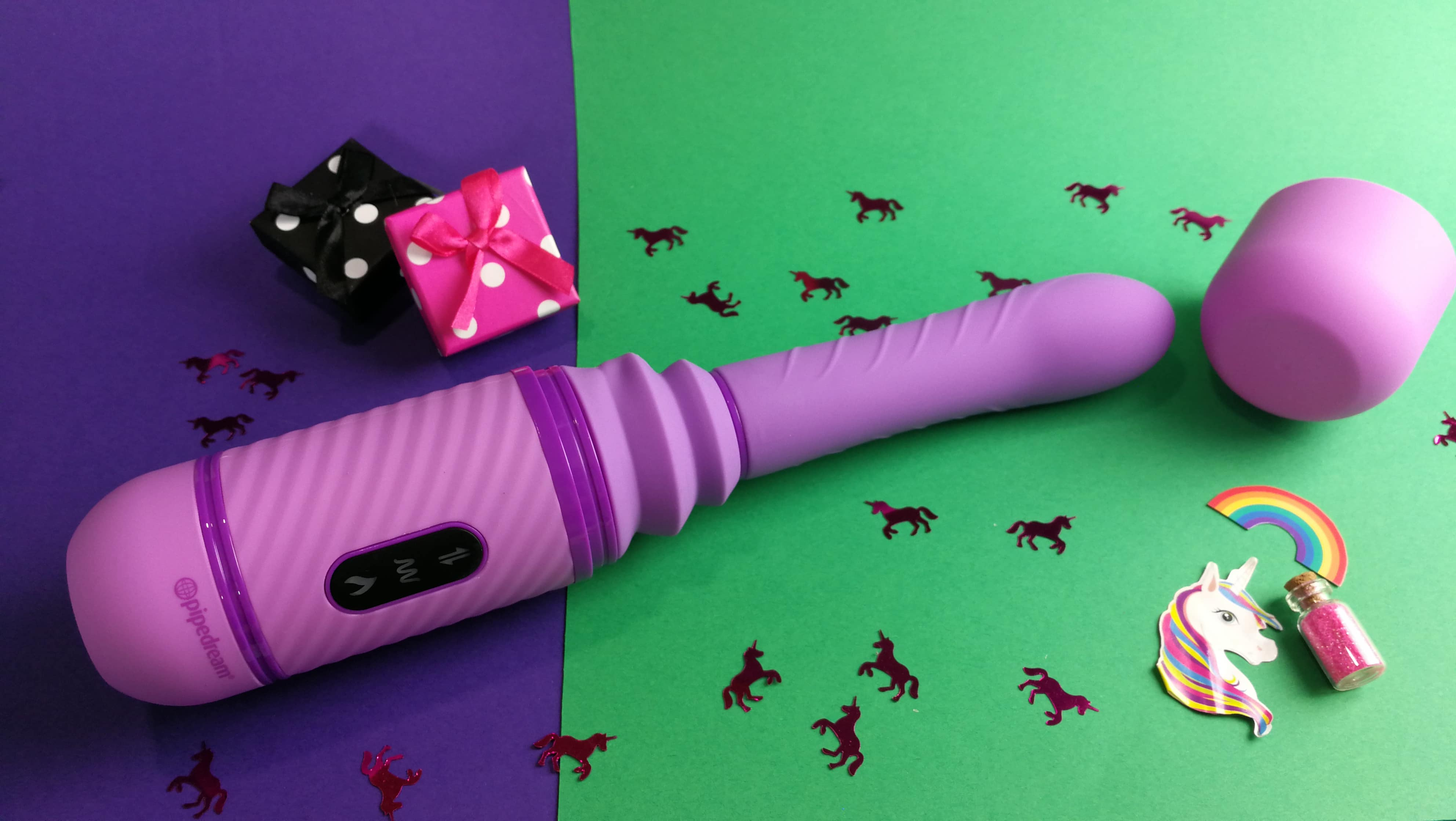 Sextoy review by Tess: Pipedream Love Thrust-Her