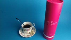 My fucsia blue tea time premium dildo