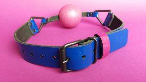 Pink pony club ball gag