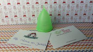 De groene cup – menstruatiecup