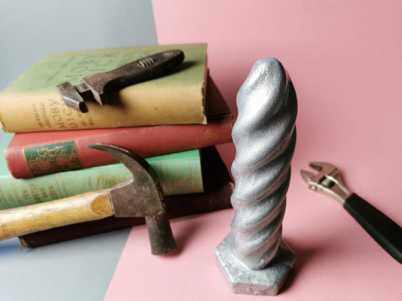 "Dildo review door Tess: SelfDelve Screw ""SKRU"" Dildo"