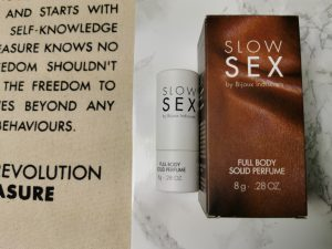 Bijoux Indiscrets Slow Sex: Anal Play Gel, Full Body Solid Perfume en Clitoral Balm