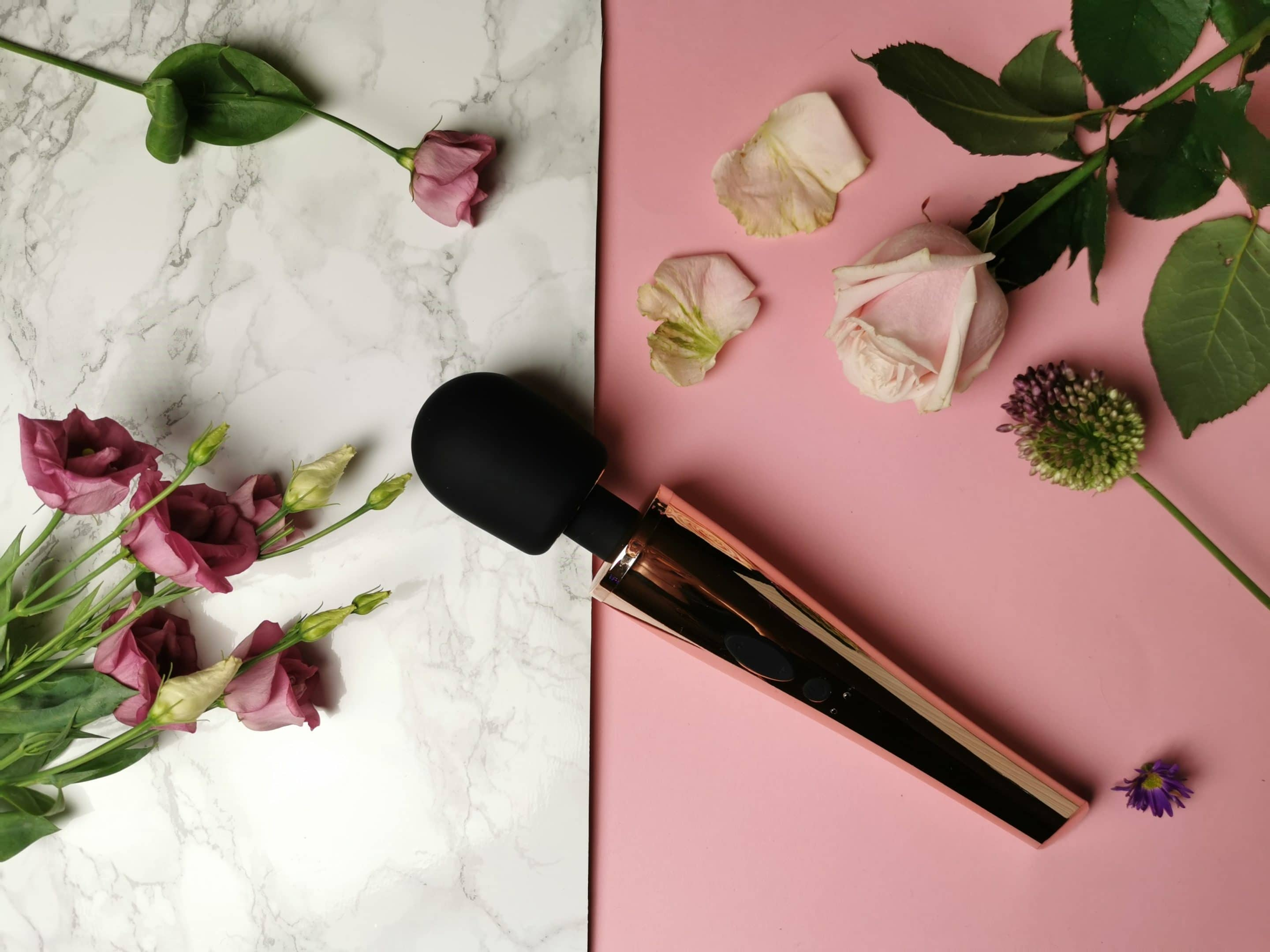 Sekstoy review: Rosy Gold Nouveau Wand Massager