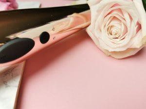 Rosy gold nouveau wand massager