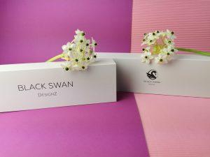 Black swan designz blue ice boeien