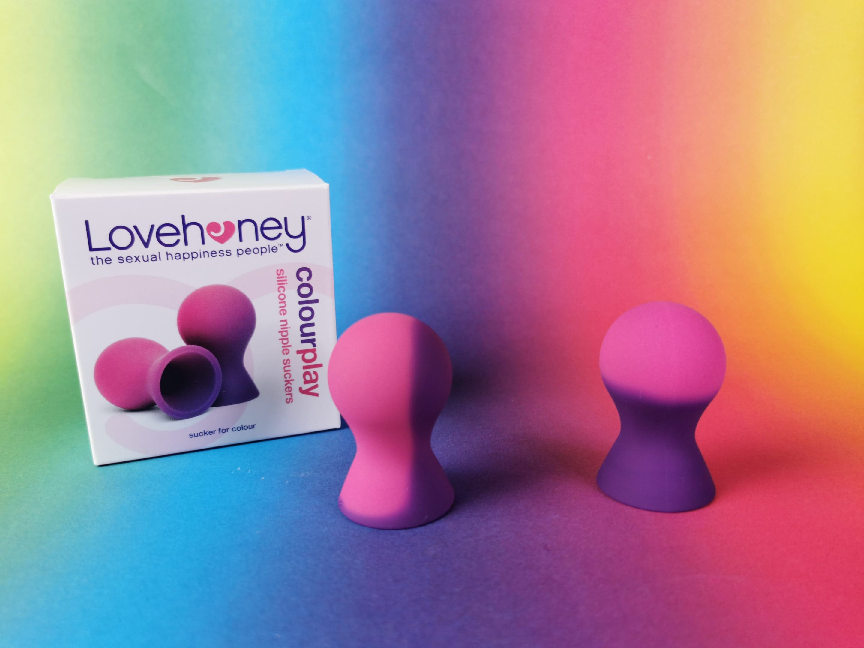 Lovehoney Colourplay Colour-Changing Silicone Nipple Suckers
