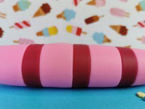 Close-up van de cocksicle popsicle vibrator